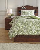 Ashley Ina Green Twin Comforter Set Available Online in Dallas Fort Worth Texas