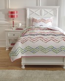 Ashley Lacentera Multi Twin Quilt Set Available Online in Dallas Fort Worth Texas