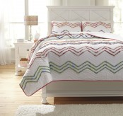 Ashley Lacentera Multi Full Quilt Set Available Online in Dallas Fort Worth Texas