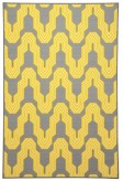 Ashley Nimat Yellow Medium Rug Available Online in Dallas Fort Worth Texas