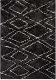 Ashley Deryn Black and White Medium Rug Available Online in Dallas Fort Worth Texas