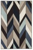 Ashley Keelia Medium Blue and Brown Rug Available Online in Dallas Fort Worth Texas