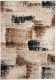 Ashley Calvin Brown and Black Medium Rug Available Online in Dallas Fort Worth Texas