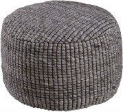Ashley Achiles Natural Pouf Available Online in Dallas Fort Worth Texas