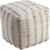 Ashley Damir Natural Pouf Available Online in Dallas Fort Worth Texas
