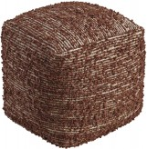 Darita Brown Pouf Available Online in Dallas Fort Worth Texas