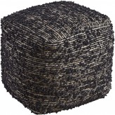 Ashley Darita Black Pouf Available Online in Dallas Fort Worth Texas