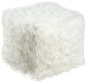 Ashley Himena White Pouf Available Online in Dallas Fort Worth Texas