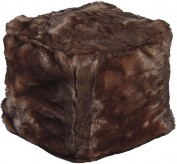 Ashley Himena Brown Pouf Available Online in Dallas Fort Worth Texas