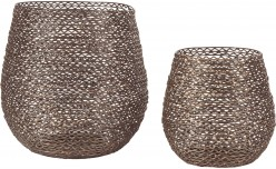 Ashley Desdemona Candle Holder Set of 2 Available Online in Dallas Fort Worth Texas