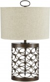 Ashley Aryan Metal Table Lamp Available Online in Dallas Fort Worth Texas