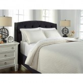 Raleda Buff Queen Coverlet Set Available Online in Dallas Fort Worth Texas