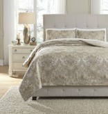 Ashley Amil Ivory King Comforter Set Available Online in Dallas Fort Worth Texas