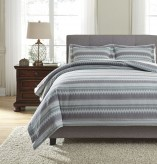 Ashley Asante Multi King Duvet Cover Set Available Online in Dallas Fort Worth Texas