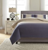 Ashley Brandon Indigo King Comf... Available Online in Dallas Fort Worth Texas