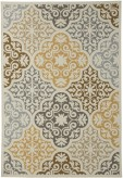 Ashley Lacy Brown/Gold Medium Rug Available Online in Dallas Fort Worth Texas