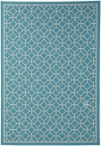 Ashley Lindzy Blue Medium Rug Available Online in Dallas Fort Worth Texas