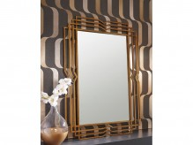 Ashley Tracey Antique Gold Accent Mirror Available Online in Dallas Fort Worth Texas