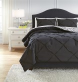 Ashley Jaylee Black Queen Comforter Set Available Online in Dallas Fort Worth Texas