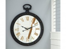 Ashley Juan Brown Wall Clock Available Online in Dallas Fort Worth Texas