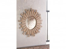 Donata Natural Accent Mirror Available Online in Dallas Fort Worth Texas