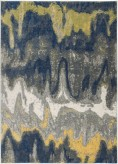 Ashley Alanson Blue/Gray/Yellow Large Rug Available Online in Dallas Fort Worth Texas