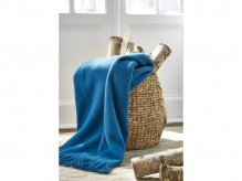 Ashley Shiloh Teal Throw Available Online in Dallas Fort Worth Texas