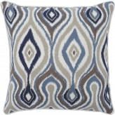 Russell Brown & Blue Pillow Set of 4 Available Online in Dallas Fort Worth Texas
