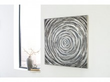 Adda Silver & Gray Wall Art Available Online in Dallas Fort Worth Texas