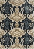 Ashley Saville Blue/Brown Large Rug Available Online in Dallas Fort Worth Texas