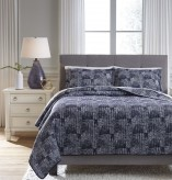 Ashley Jabesh Navy Queen Quilt ... Available Online in Dallas Fort Worth Texas