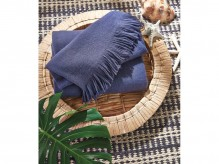 Ashley Shiloh Navy Throw Available Online in Dallas Fort Worth Texas