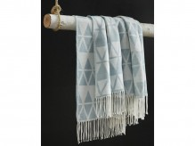 Ashley Noemi Blue Throw Available Online in Dallas Fort Worth Texas