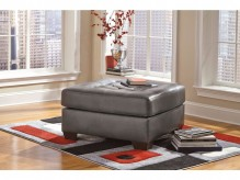 Alliston DuraBlend Gray Oversized Accent Ottoman Available Online in Dallas Fort Worth Texas
