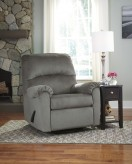 Ashley Bronwyn Alloy Swivel Glider Recliner Available Online in Dallas Fort Worth Texas