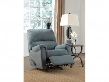 Ashley Zeth Denim Rocker Recliner Available Online in Dallas Fort Worth Texas