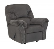 Ashley Kinlock Charcoal Rocker Recliner Available Online in Dallas Fort Worth Texas