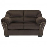 Ashley Kinlock Chocolate Loveseat Available Online in Dallas Fort Worth Texas