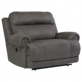 Austere Gray Zero Wall Power Wide Recliner Available Online in Dallas Fort Worth Texas