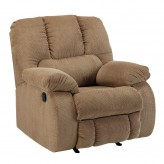 Ashley Roan Mocha Rocker Recliner Available Online in Dallas Fort Worth Texas