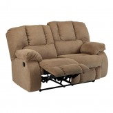 Ashley Roan Mocha Reclining Lov... Available Online in Dallas Fort Worth Texas