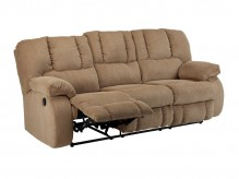 Ashley Roan Mocha Reclining Sofa Available Online in Dallas Fort Worth Texas