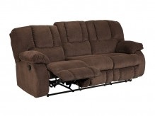 Ashley Roan Cocoa Reclining Sofa Available Online in Dallas Fort Worth Texas