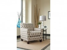 Ashley Janley Nugat Accent Chair Available Online in Dallas Fort Worth Texas