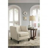 Ashley Kieran Cream Accent Chair Available Online in Dallas Fort Worth Texas