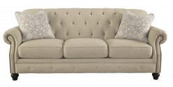 Ashley Kieran Cream Sofa Available Online in Dallas Fort Worth Texas