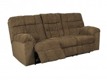 Ashley Antwan Truffle Reclining Sofa With Drop Down Table Available Online in Dallas Fort Worth Texas