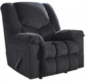 Ashley Turboprop Slate Rocker Recliner Available Online in Dallas Fort Worth Texas
