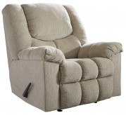 Ashley Turboprop Putty Rocker Recliner Available Online in Dallas Fort Worth Texas