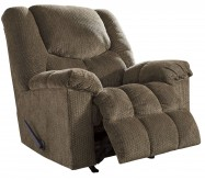 Ashley Turboprop Brown Rocker Recliner Available Online in Dallas Fort Worth Texas